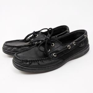 Sperry Top Sider Blowfish Boat Shoes Black 9.5